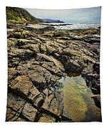 Rocky Coast Tapestry