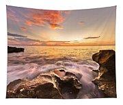 Rocky Surf Tapestry