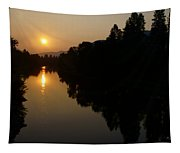 Rogue September Sunrise 2 Tapestry