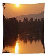Rogue September Sunrise 3 Tapestry