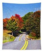 Rolling Thru West Virginia Impasto Tapestry