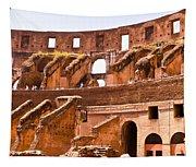 Roman Coliseum Interior Tapestry