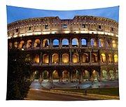 Rome Colosseum Dusk Tapestry