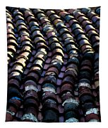 Roof Tiles 2 Tapestry