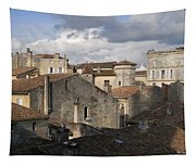 Roof Top View Tapestry