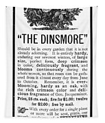 Rose Advertisement, 1890 Tapestry