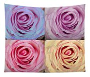 Rose Spiral Colorful Mix Tapestry