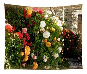 Roses Roses Everywhere Tapestry