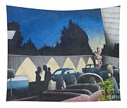 Route 66 Brandon Mural Tapestry