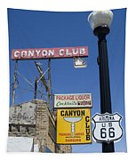 Route 66 Canyon Club Tapestry