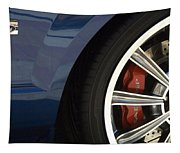 Route 66 Classic Cars 3 Tapestry