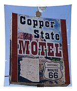 Route 66 Copper State Motel Tapestry