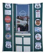 Route 66 Doorway Tapestry