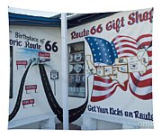 Route 66 Gift Shop Tapestry