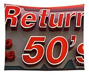 Route 66 Return To The 50s Tapestry