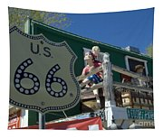 Route 66 Seligman Arizona Tapestry