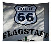 Route 66 Sign In Flagstaff Arizona Tapestry