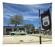 Route 66 Still Open Tapestry