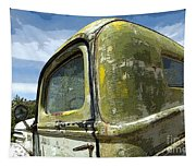 Route 66 Vintage Truck Tapestry