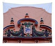 Royal Hawaiian Hotel Entry Facade Tapestry