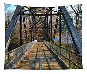 Rube Nelson Bridge 1 Tapestry
