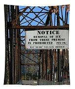 Rube Nelson Bridge 3 Tapestry