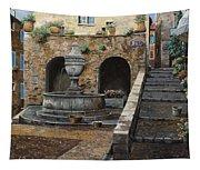 Rue Du Bresc A St Paul De Vence Tapestry