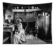Rural Couple Eating, C1899 Tapestry
