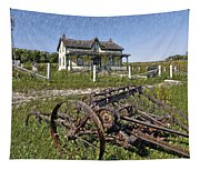 Rural Ontario Sketch Tapestry