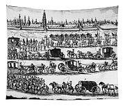 Russia: Procession, 1698 Tapestry