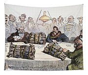Russian Cartoon, 1854 Tapestry