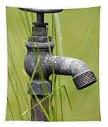 Rusty Water Supply Point Tapestry