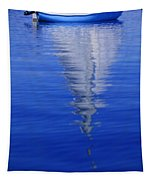 Sailboat On Water Tapestry