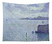 Sailing Boats In An Estuary Tapestry