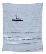 Sailing In For The Evening Tapestry