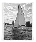 Sailing On The Charles Tapestry