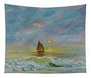 Sailing The Ocean Blue Tapestry