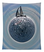 Sailing The World Tapestry
