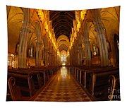 Saint Marys Church Interior 3 Tapestry