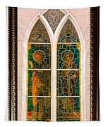 Saints In The Window Tapestry