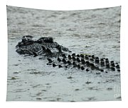 Salt Water Crocodile 3 Tapestry