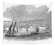 San Francisco Bay, 1849 Tapestry