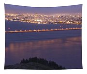 San Francisco Dusk Tapestry