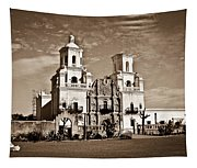 San Xavier Del Bac Mission Tapestry