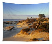Sand Dunes At Sunset, Lake Huron Tapestry