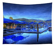 Sandpoint Marina And Power House 1 Tapestry