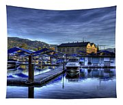 Sandpoint Marina And Power House Tapestry