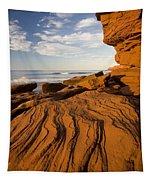 Sandstone Cliffs, Cavendish, Prince Tapestry