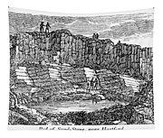 Sandstone Quarry, 1840 Tapestry