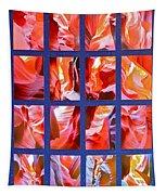 Sandstone Sunsongs Rockin Red Tapestry